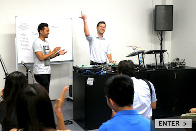 E-TracX DJ School Singapore DJ Turntablism Workshops Button Optimised