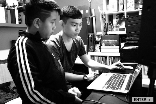 E-TracX DJ School Singapore Music Production Ableton Live Course Aaron Sim