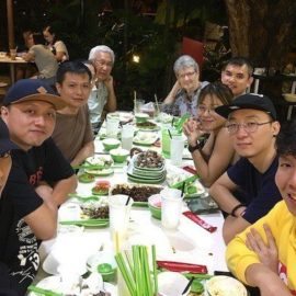 E-TracX Family Makan (01 April 2018)