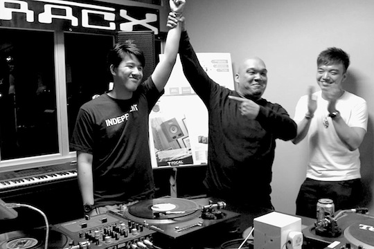 E-TracX DJ School DJ Turntablism Course Champions
