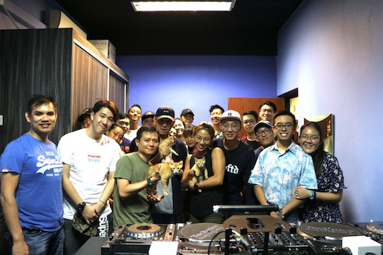 E-TracX DJ School Singapore Family of Turntablists